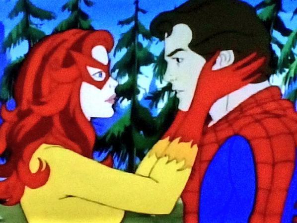 Resultado de imagem para firestar+spiderman