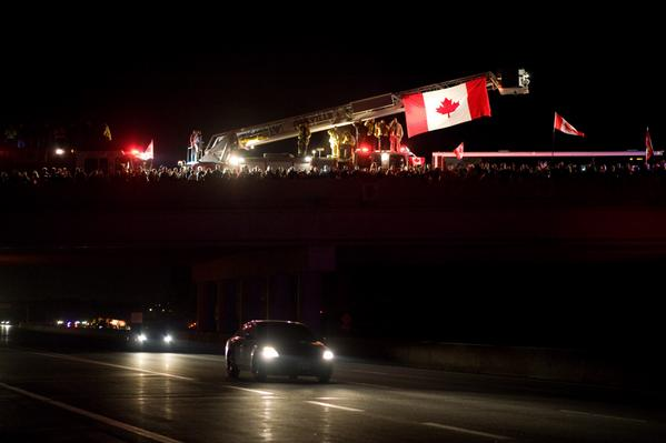 """@Halton_Photog: .@oakvillepffa #highwayofheroes #NathanCirillo Great turnout throughout Halton. RV http://t.co/AF7ZTsGd7n"""
