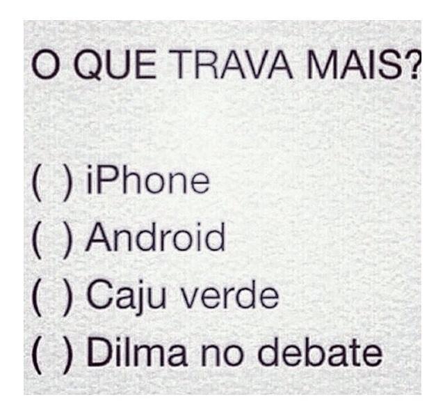Qual é o seu problema #Dilma #ForaDilma #VotoAecioPeloBR45IL #Aecio45PeloBrasil #Aecio45 #AécioTáMandandoBemNoDebate http://t.co/MFpA2SwwTS