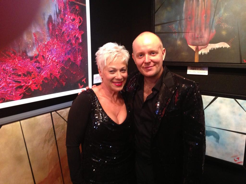 On @BBCLeicester radio at 9.30 talking about life and @LincolnTownley fabulous exhibition @AntedoteArt x http://t.co/ELE3b3cuvS