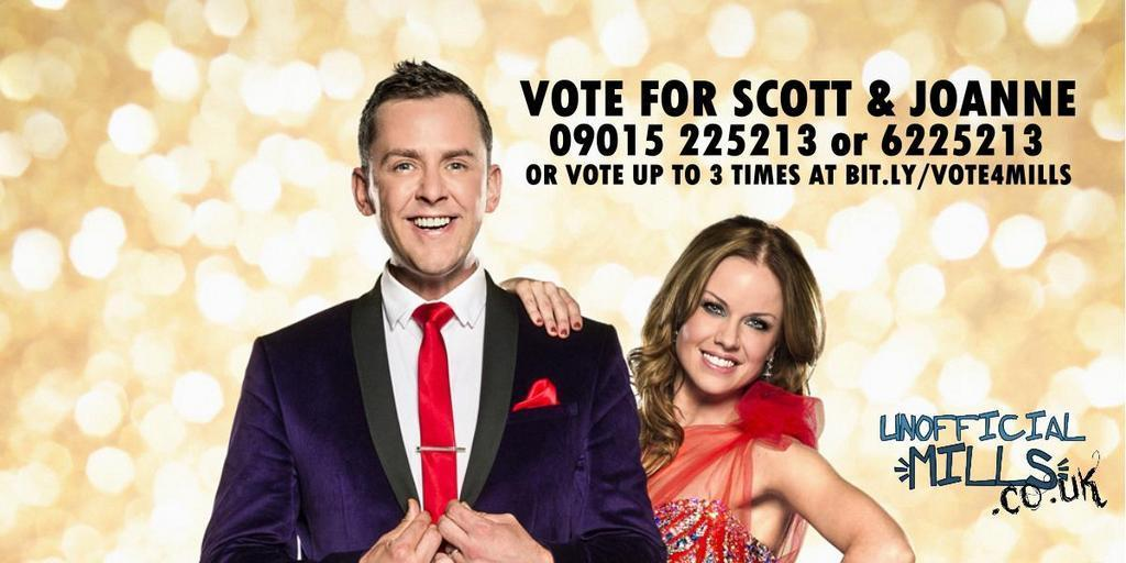 RT @unofficialmills: Good luck tonight @scott_mills! For everyone else here's the important voting information. Lines open around 8.20pm. h…
