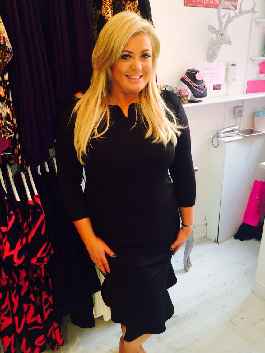 Beautiful work or evening wear dress @gemCBoutique http://t.co/Y7ZuO1uTwy