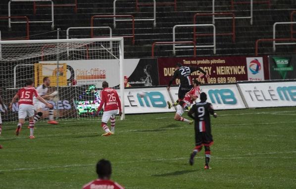 Kostovski (#23) scored on this shot