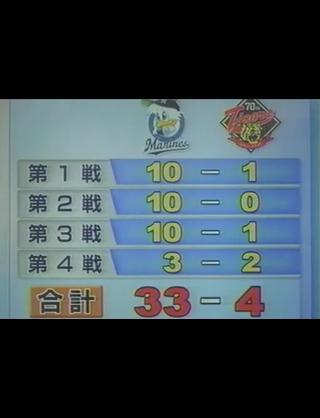 【速報】阪神タイガース2005年の全得点を上回る http://t.co/46wuJBKXoj