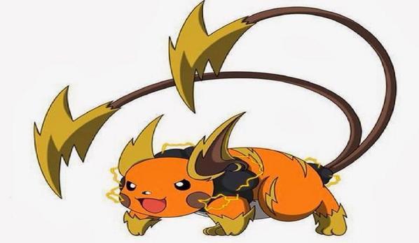 Keentse maja on twitter is there a mega evolved form of - Pokemon x raichu mega evolution ...