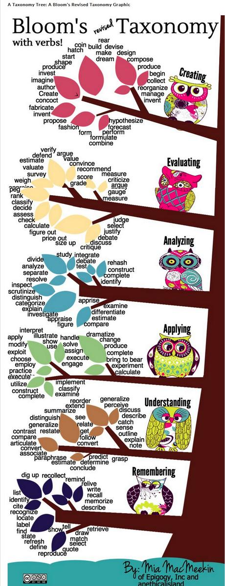 A6: Bloom's revised Taxonomy  #satchat http://t.co/YPrUxMzt3n