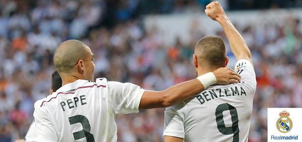 FINAL: Real Madrid 3-1 Barcelona (C.Ronaldo, 34'; Pepe, 50'; Benzema, 61' / Neymar, 3') #RealMadridvsFCB #RMLive http://t.co/oSTj9N2Gb5