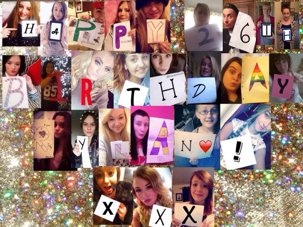 BIG THANK YOU to all you lot who done this. It's lovely x http://t.co/R5xb4whGmX