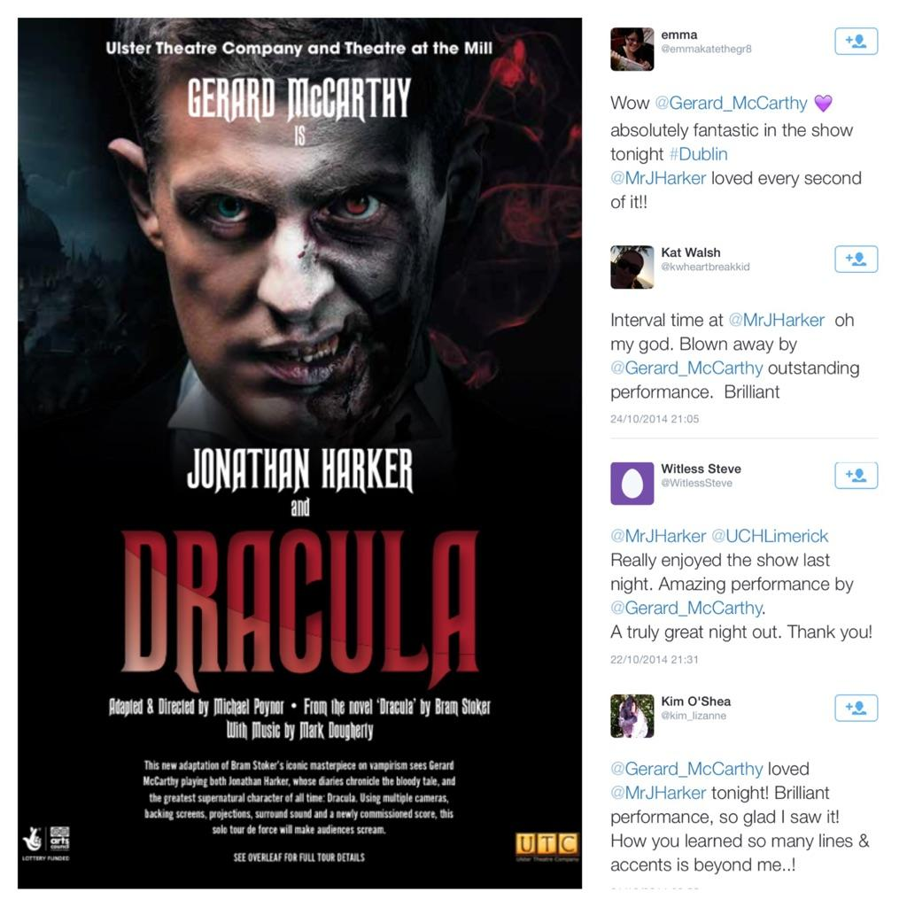 """RT @MrJHarker: """"Fantastic"""" """"Outstanding"""" """"Amazing"""" """"Brilliant""""  Here's what the audience tweeted this week... http://t.co/cDUndTzLgn"""