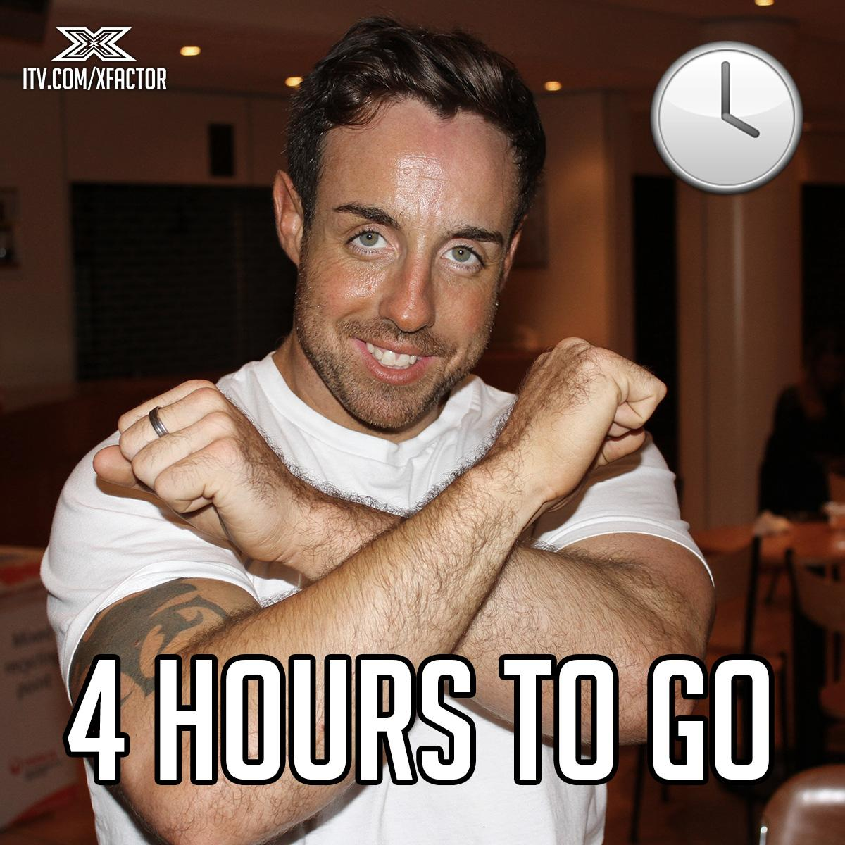 .@THESTEVIRITCHIE's limbering up for his #XFactorMoviesWeek performance... 👯 TONIGHT. 8pm. @ITV. http://t.co/pn9dzl58E3
