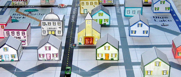 photo about Free Printable 3d Buildings called KiwiCo upon Twitter: \