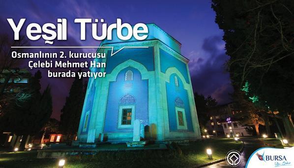 Yeşil Türbe; Osmanlının 2.kurucusu Çelebi Mehmet Han burada yatıyor @munirkaraloglu @IznikGenclikMec @SametSimsekCom