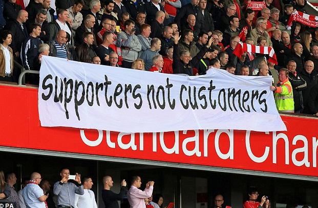 Liverpool FC Fans Protest