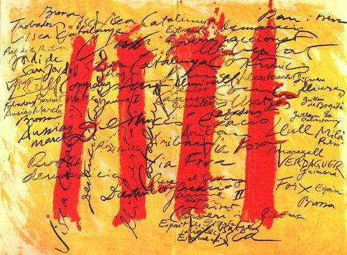 tUrnarem a sofrir, tUrnarem a lluitar i tUrnarem a vèncer !!! Visca Catalunya !!! http://t.co/cjLkBsupeL