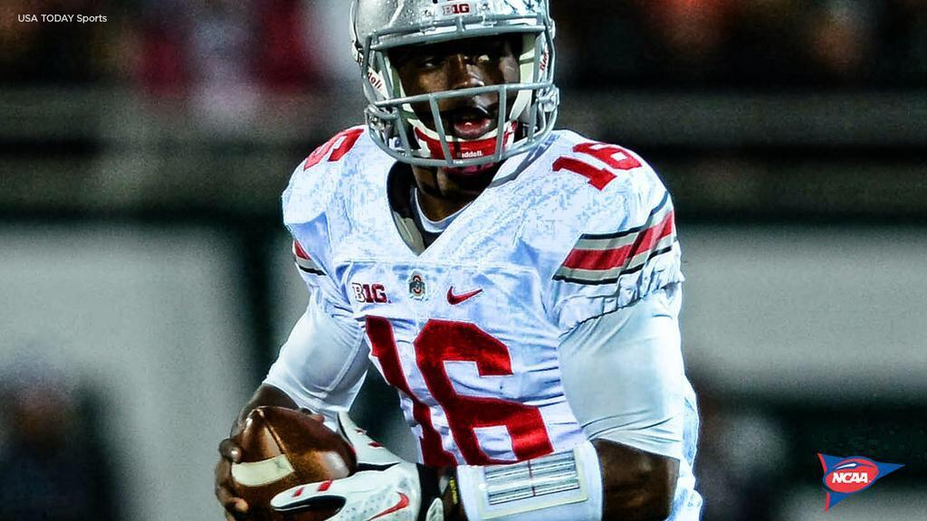 Ice in his veins, along with some Scarlet and Gray. #JTBarrett http://t.co/KG6YCXGX41