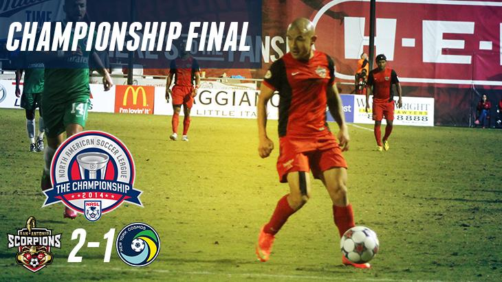 VICTORY!!! San Antonio, we will have a championship match next Saturday at Toyota Field. #TheChampionship http://t.co/eNmiOiNV7f