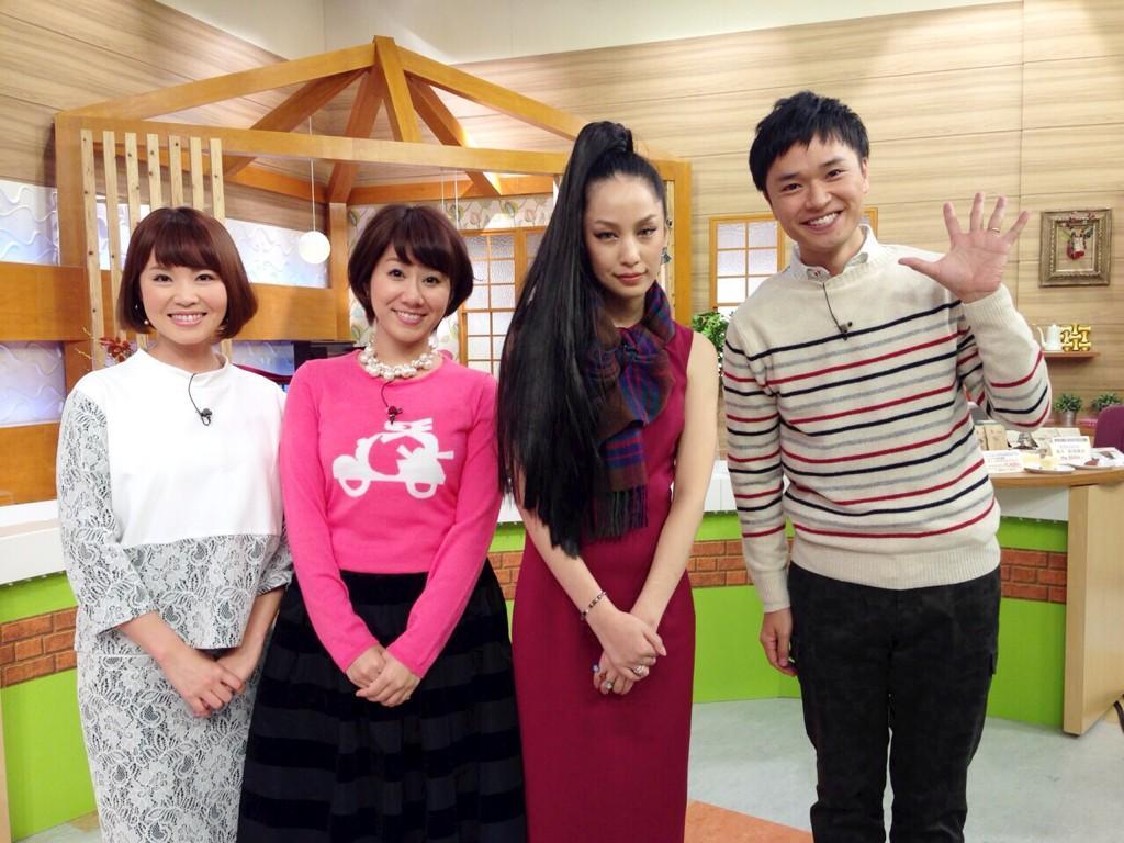 今日感テレビ日曜版の中島美嘉
