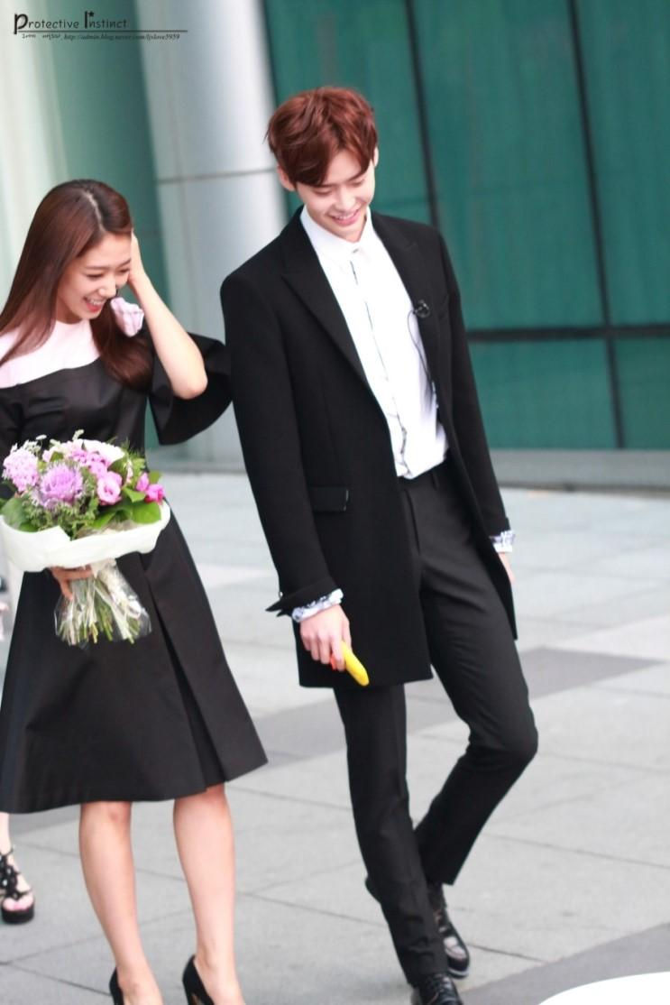 lee jong suk and park shin hye relationship status