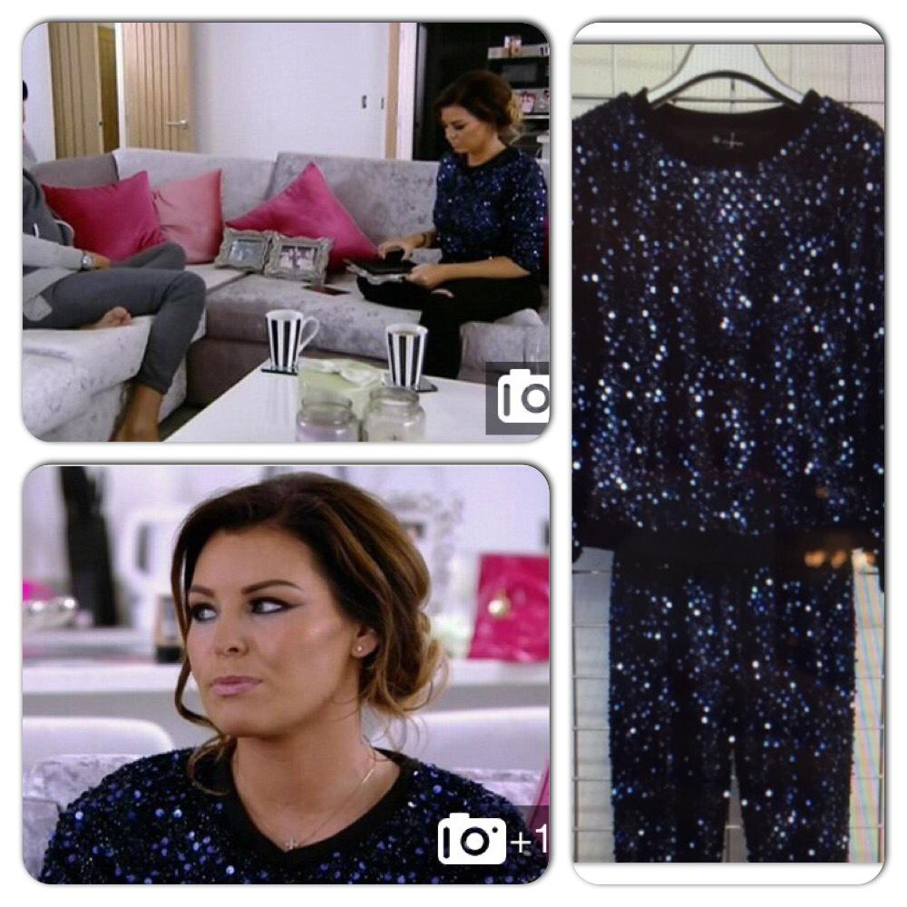 RT @WithLove_Jess: The Navy Sequin Tracksuit that @MissJessWright_ woreon Towie is available here  http://t.co/JkRMw1Er7i #TOWIE #sequin ht…