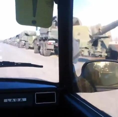 Из РФ в направлении Красного Луча переброшено 32 танка, 16 гаубиц и 30 КамАЗов с боеприпасами и террористами, - СНБО - Цензор.НЕТ 6423