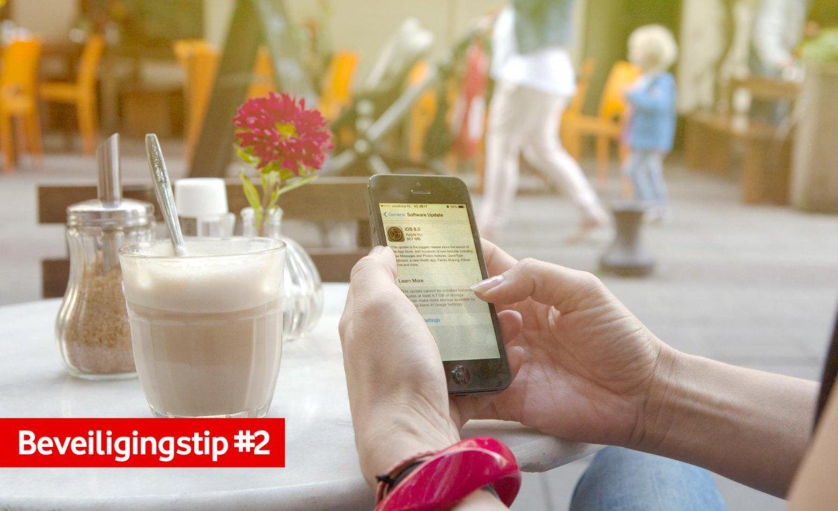 Als u het besturingssysteem van uw smartphone update heeft u altijd de laatste beveiliging. http://t.co/UI4wqLnCf4 http://t.co/JqN4pnH0cU