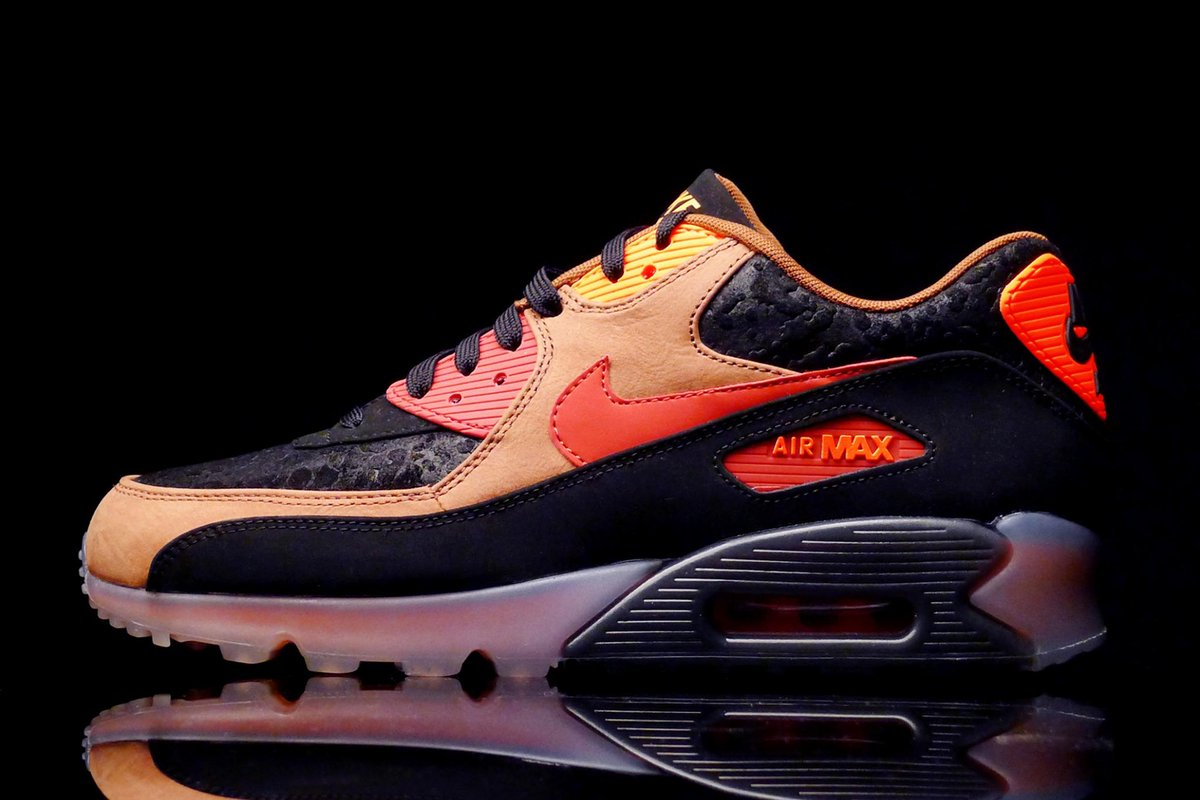 best service b1a80 b9532 Order here  https   www.shelflife.co.za products Nike-Air-Max-90-Ice- Halloween-HW-QS-Black-Team-Red …  NSWZApic.twitter.com IsIkReJLiR