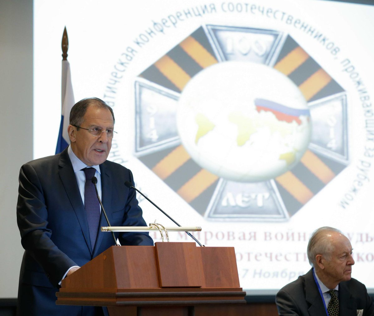 Address by Sergey #Lavrov at the conference #WWI and the Destinies of Russian Compatriots http://t.co/5rrUSyl8B4 http://t.co/TWvWXzcX9p