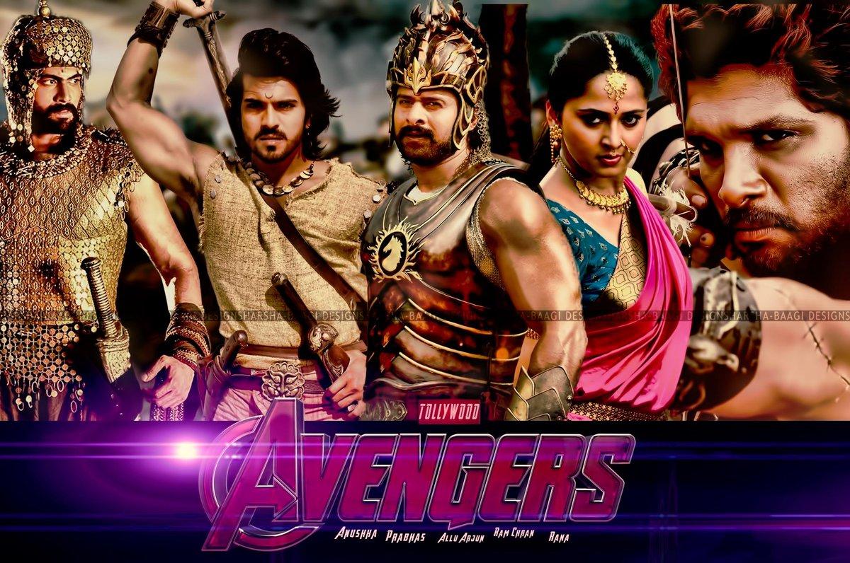 Image result for Charan,Bunny, Prabhas & Rana