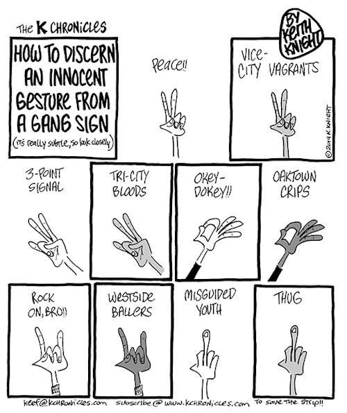 How To Do The Bloods Sign