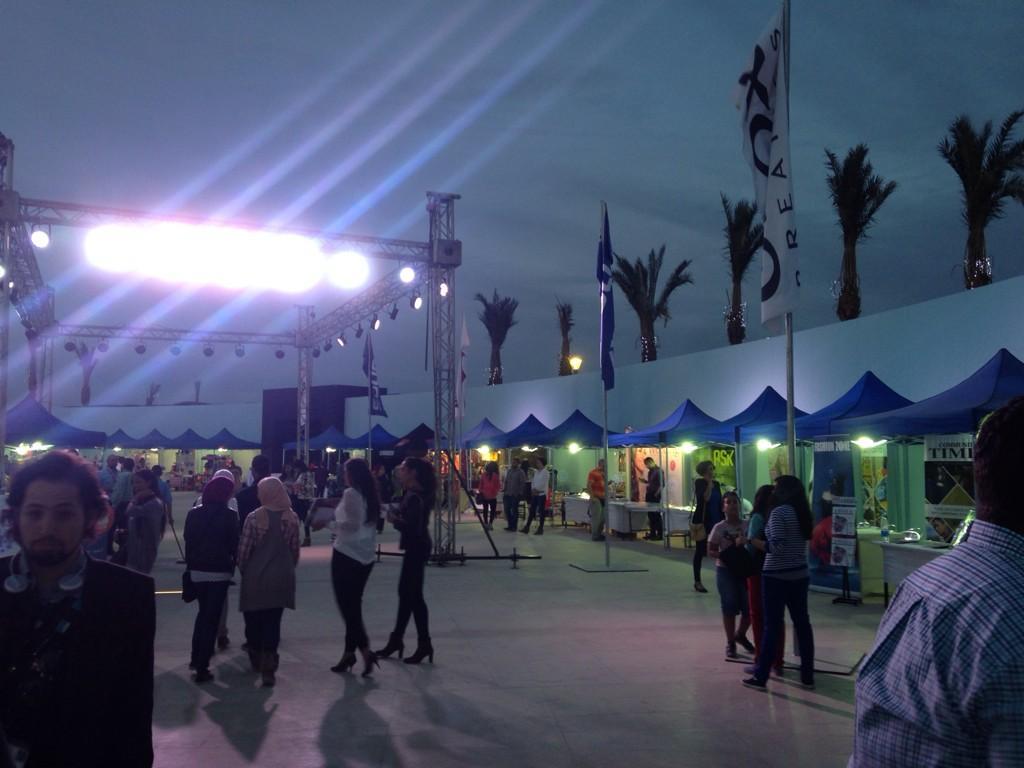 The bazaar area at the #CFF3. #JRMC2202 #JRLWeb http://t.co/gvVyOFUTmA