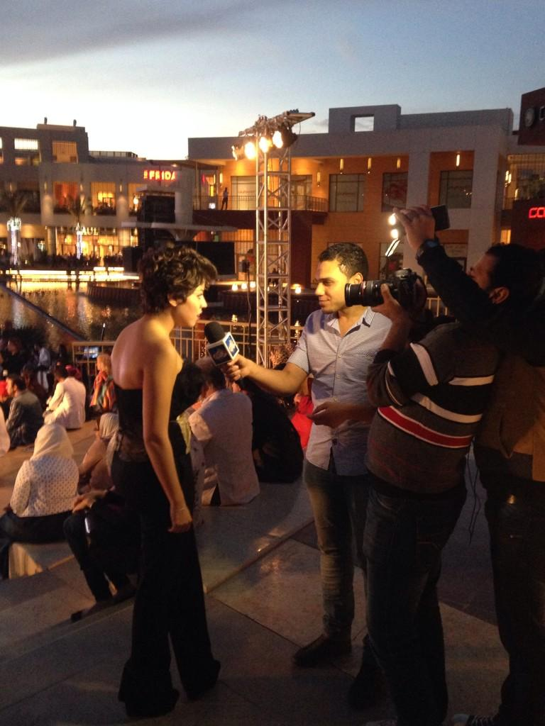 Media reporters conducting interviews with guests at the #CFF3. #JRMC2202 #JRLWeb http://t.co/N0oQTDlUwC