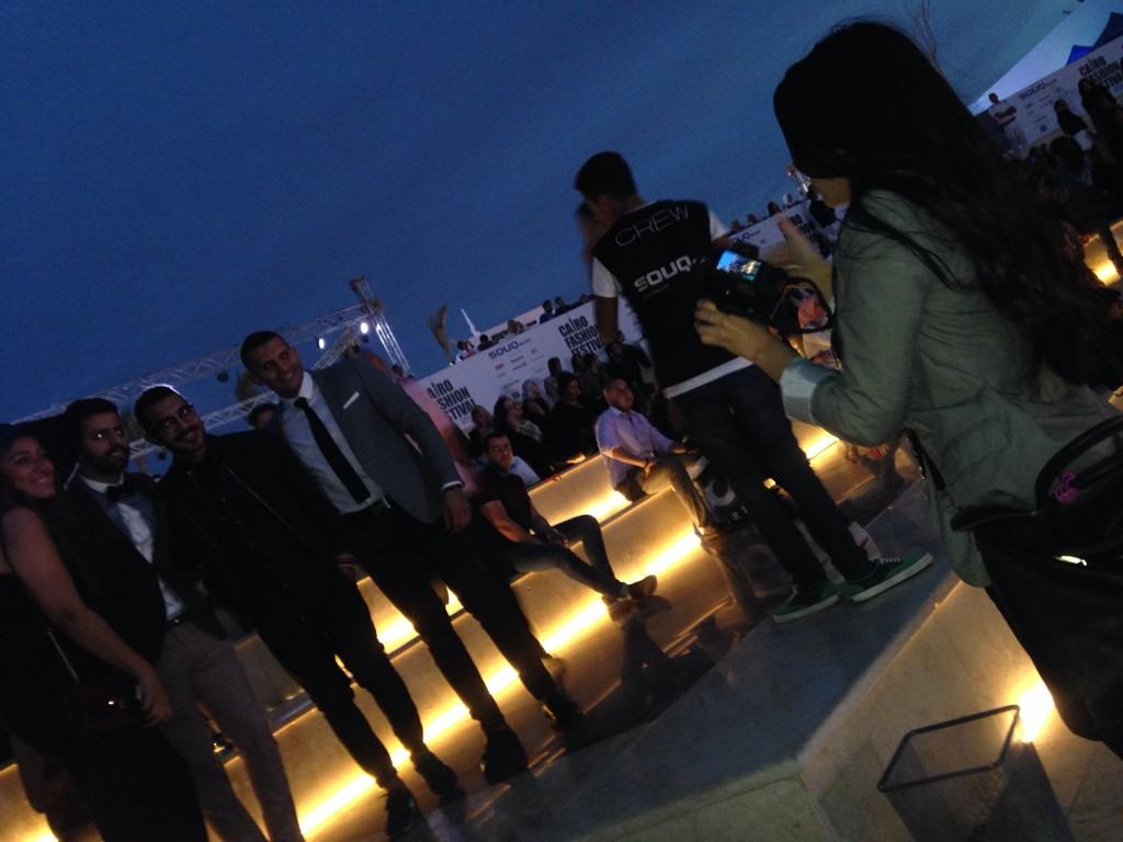 @farrahfayez taking some professional pics at the #CFF3. #JRMC2202 #JRLWeb http://t.co/RzDP6mMeDw