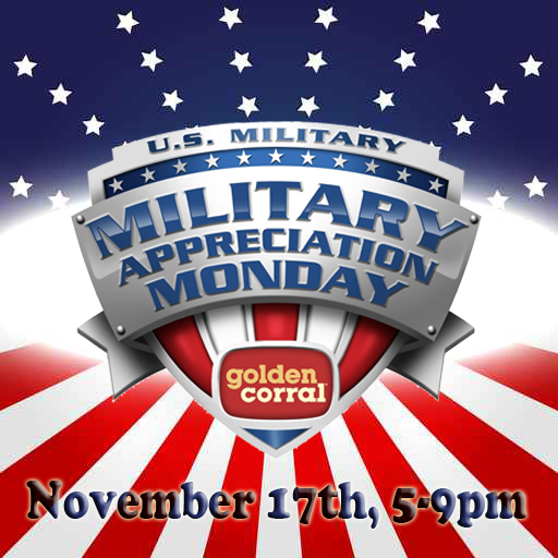 "Mark your calendars & join us Nov. 17th for a free ""Thank You"" dinner to all who serve or have served in the military http://t.co/LwSG3OEgXf"