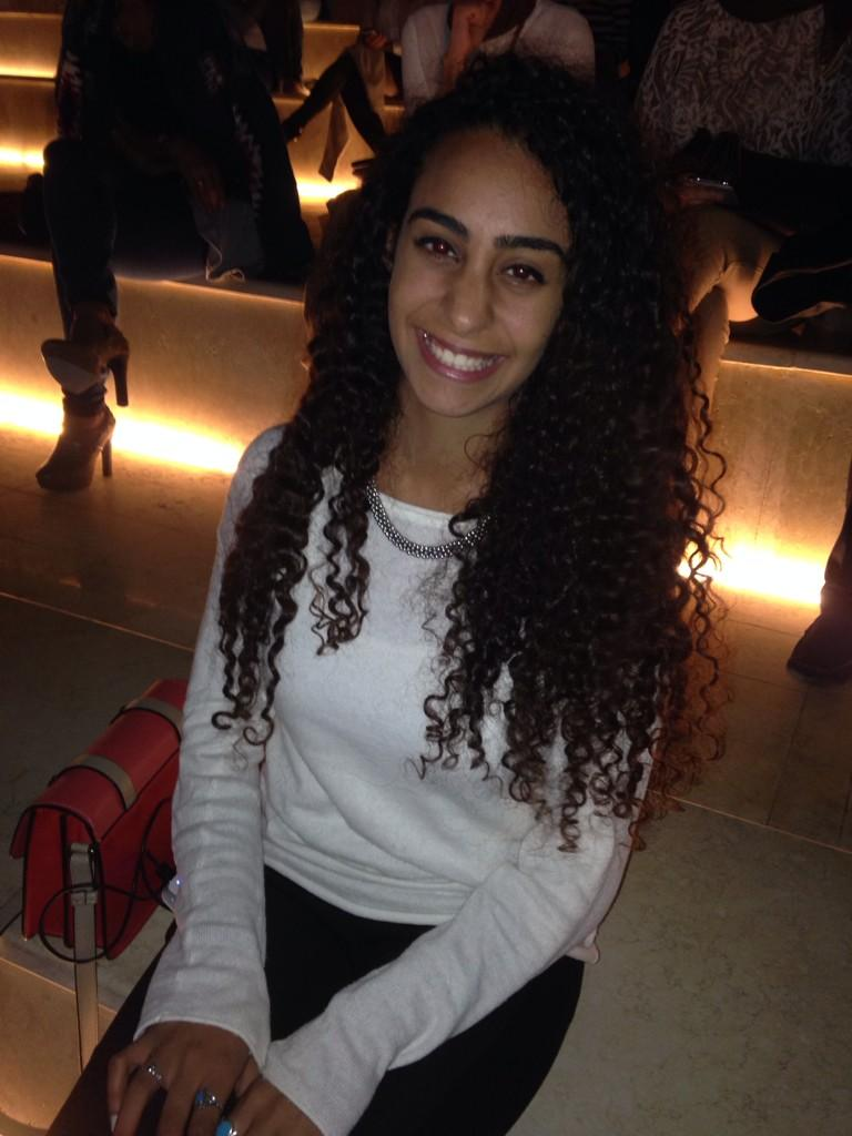 Nadine Maged, a guest at the #CFF3, dreams of becoming a fashion designer. #JRMC2202 http://t.co/4ZUu4yeE5t