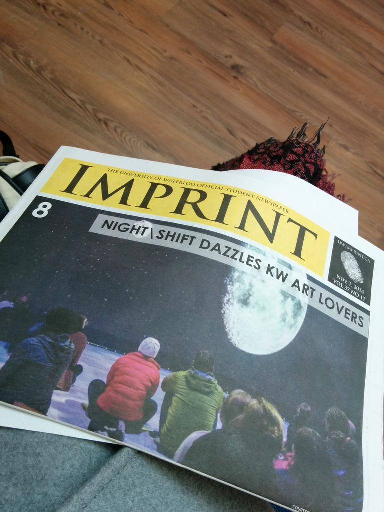 It's Friday which means the newest issue of Imprint is out! Pick up your copy! @UWaterlooLife @UWaterloo #uwaterloo http://t.co/v3A0YzczWq