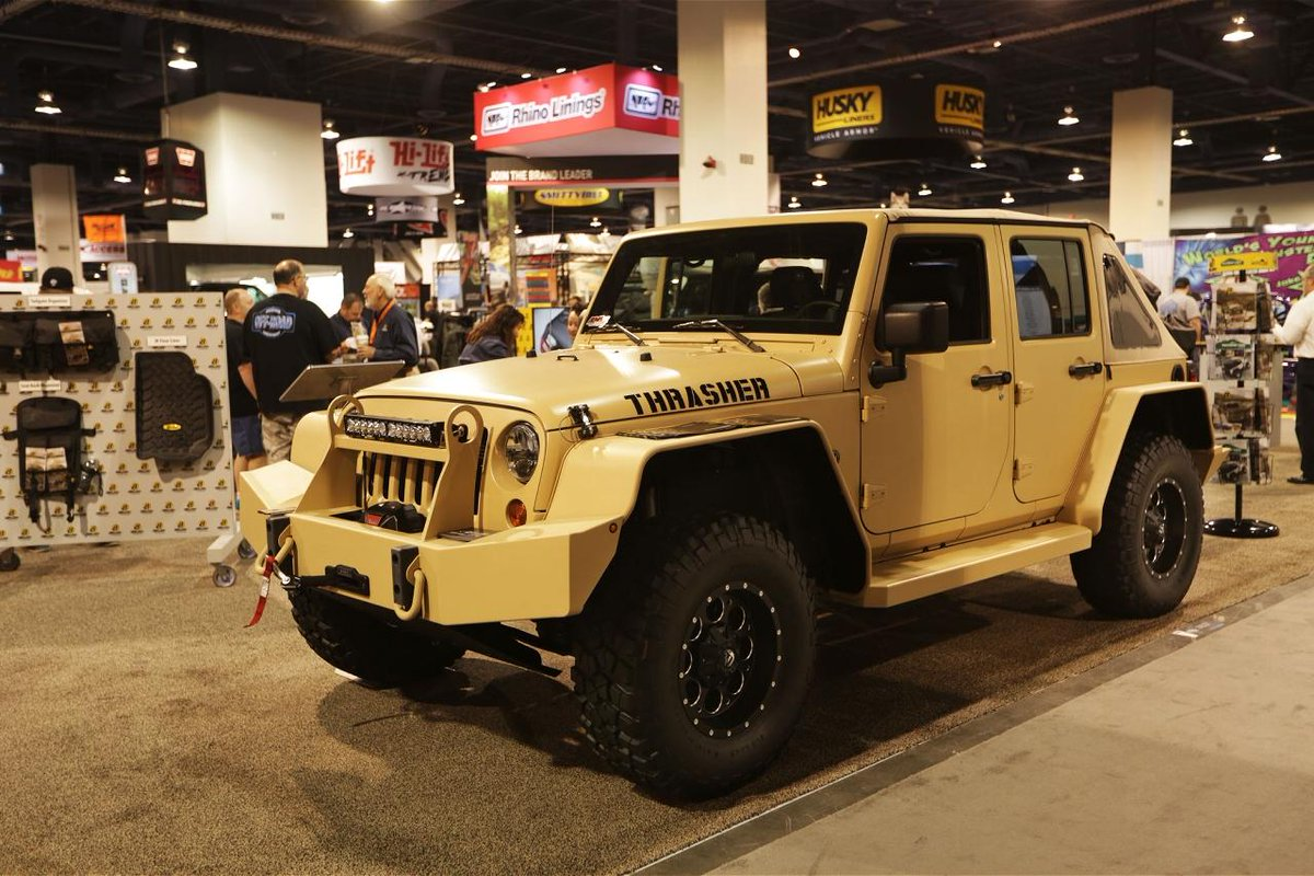 Here are our five favorite modified #Jeep Wranglers we found at this year's #SEMA show. http://t.co/dOCbIlfm0E http://t.co/vtcyW1dVK5
