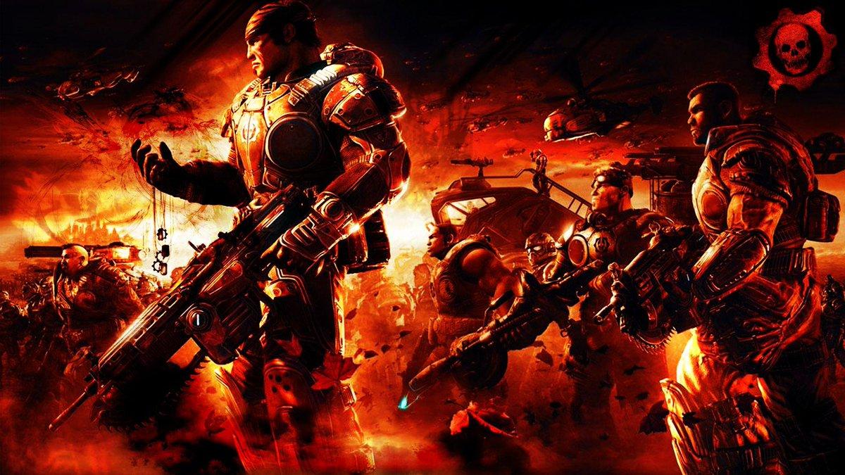 Hoy se cumplen 8 años del lanzamiento del primer Gears of War http://t.co/0advLk5XUy