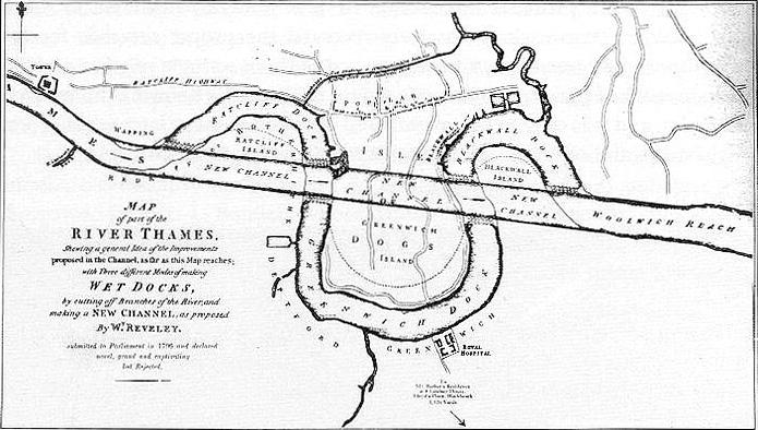 They almost did this to the Thames in 1796! http://t.co/j6UJfk2D9g