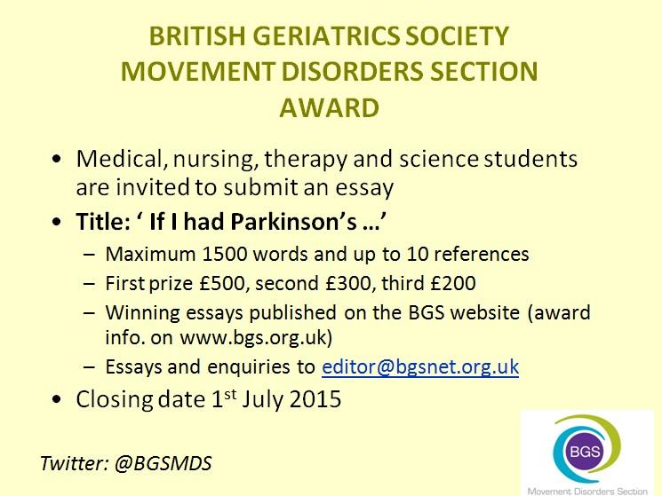 An international competition for secondary school and medical students