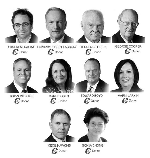 Le C.A....très politisé de Radio-Canada. Via @asaulnier1 #PolQc http://t.co/5iQ5RZ3PX2
