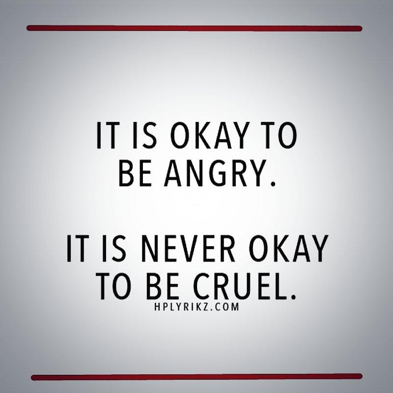 Wonderfulwolverines On Twitter Its Ok To Be Angry Its Never Ok
