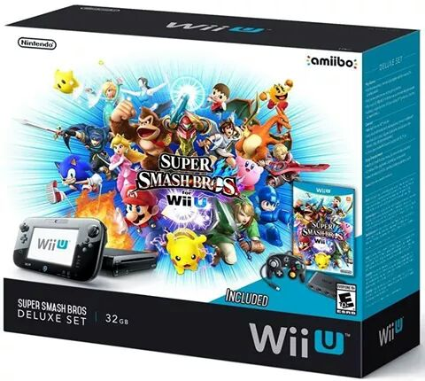 Here's the leaked #SuperSmashBros #WiiU bundle photo. Better deal than the #MarioKart8 bundle I think. http://t.co/GCdbe9oBmV