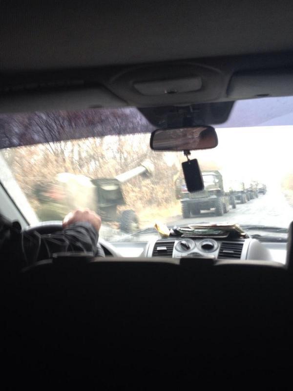 Из РФ в направлении Красного Луча переброшено 32 танка, 16 гаубиц и 30 КамАЗов с боеприпасами и террористами, - СНБО - Цензор.НЕТ 6871