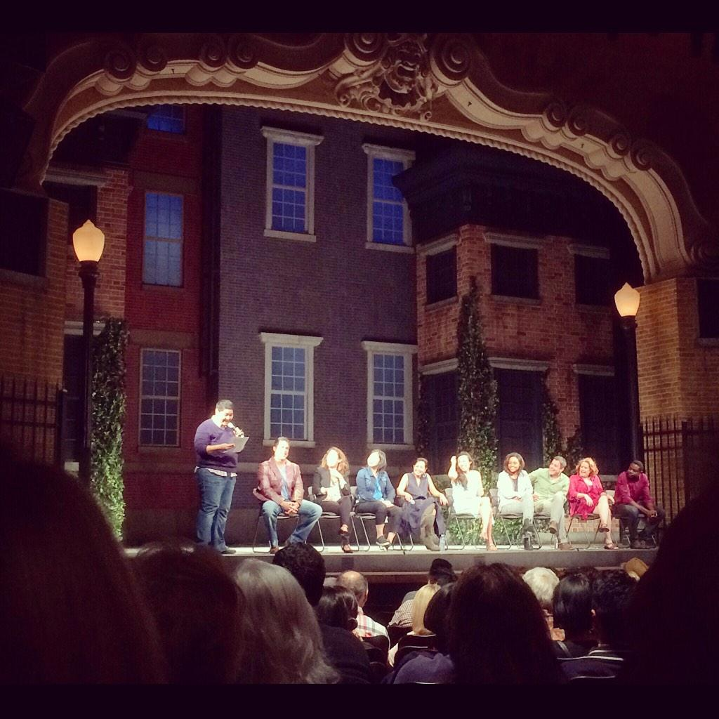 #QandA w/#StopKiss cast, playwright, director, & original cast member @IamSandraOh @PasPlayhouse http://t.co/w9idAwqdEl