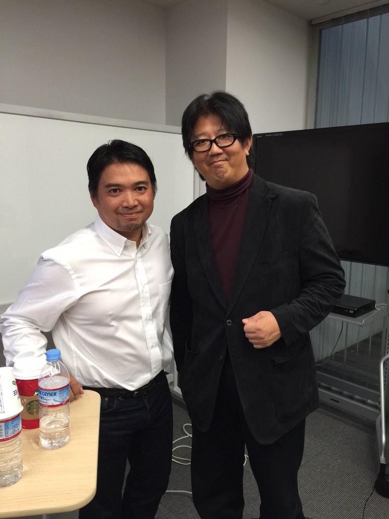 Twitter味澤さんの講義終了なう。 http://t.co/v6ssCgafua