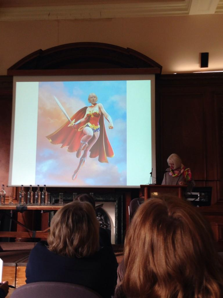 First up: writer, editor, campaigner and diversity in publishing superhero Anna McQuinn #IBBYBelong http://t.co/8arTNFv7TM