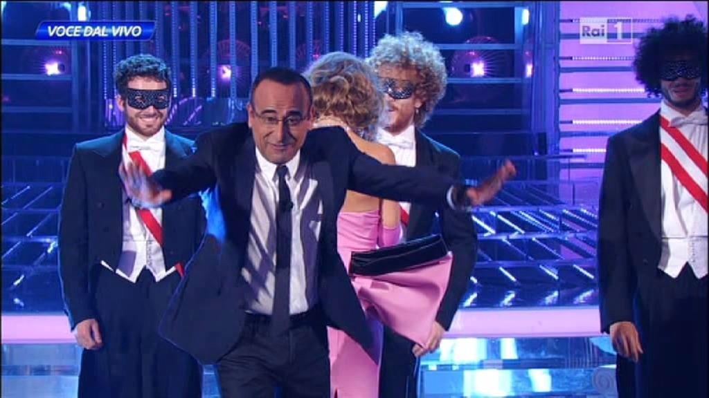 "Veronica Maya e Carlo Conti ""Tale e Quale Show"" in Diretta Rai"