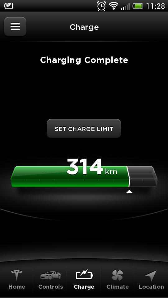 Updated Tesla Now Allows To Set Model S Charge Limit For Android Very Useful Feature Not Available Beforepic Twitter M8zpqyw1jz
