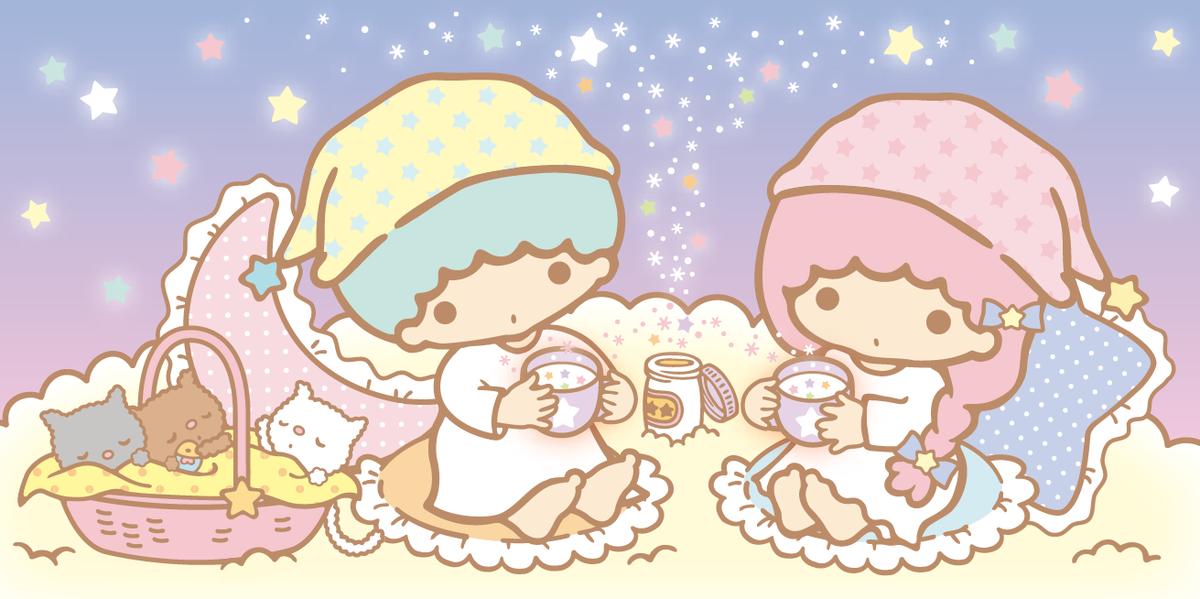 今日は冬の始まりの日「立冬」よ☆ 冬は、お星さまパウダー入りミルクで体を温めから、眠るの☆