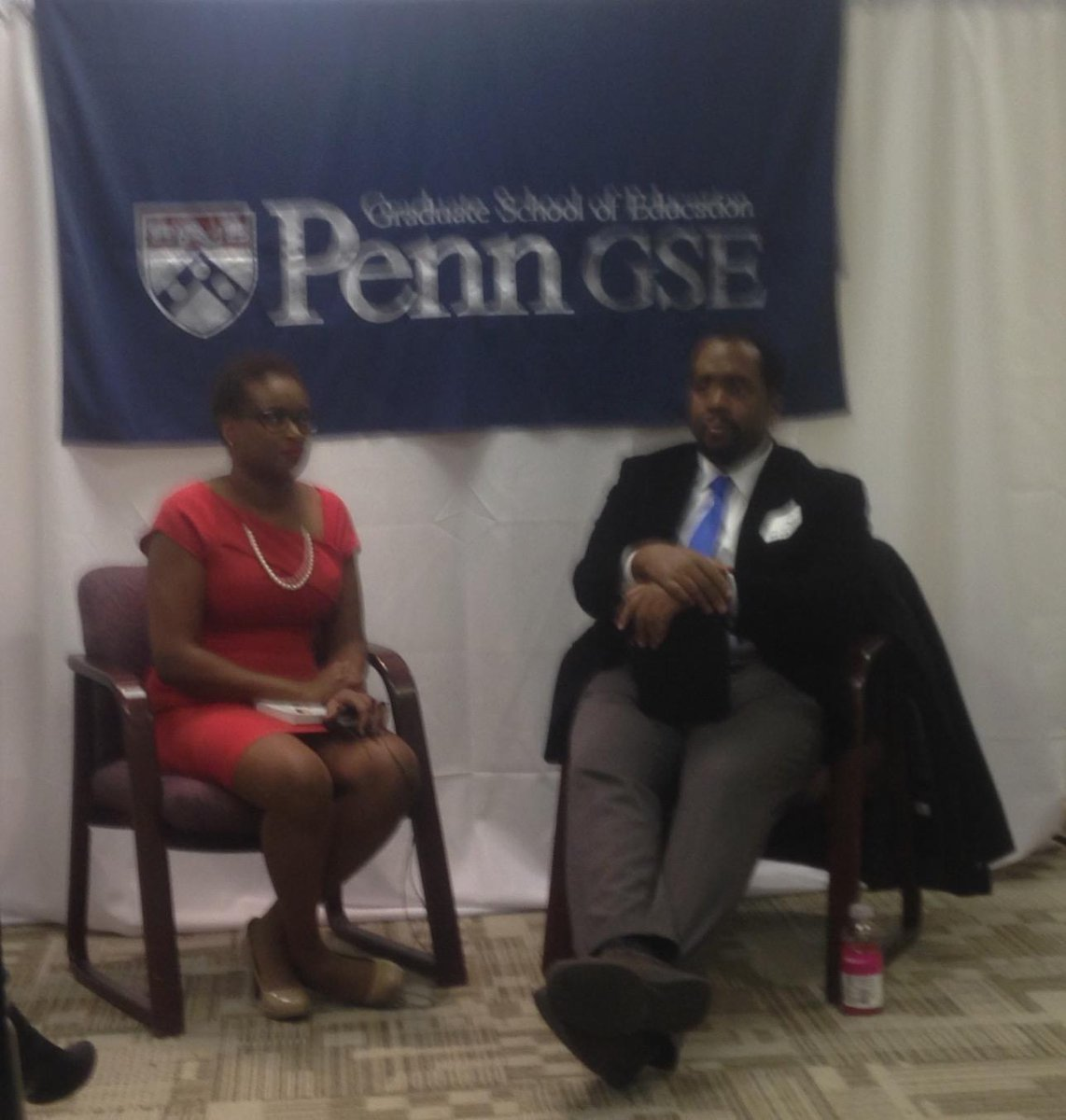 Penn GSE educators on the square #pennedchat @MCDPEL w/Jose Vilson http://t.co/hg1bhWivqe